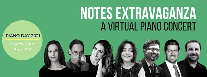 Notes Extravaganza: A Virtual Piano Concert image