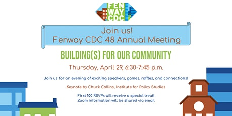 Fenway CDC Virtual Annual Meeting: Building(s) for Our Community tickets