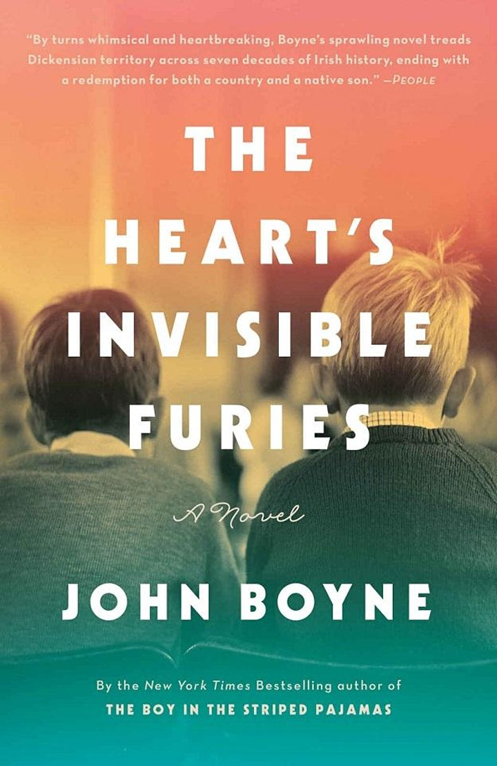 Yale GALA Book Club Reading The Heart's Invisible Furies (2017)-600 pages! image