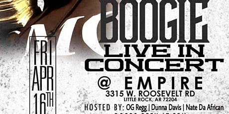 Big Boogie Live At Empire tickets