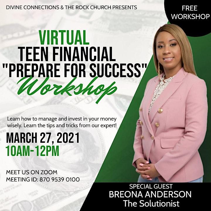 Teen Financial Literacy Workshop image