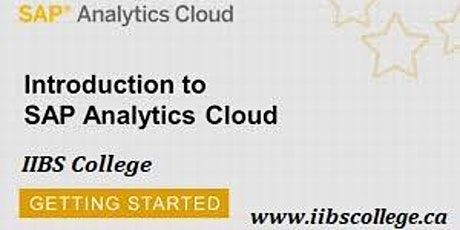 SAP Analytics Cloud Planning Training tickets