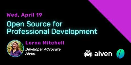 Open Source for professional development entradas