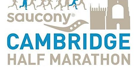 Cambridge Half Marathon 2021 - Maggie's charity place tickets