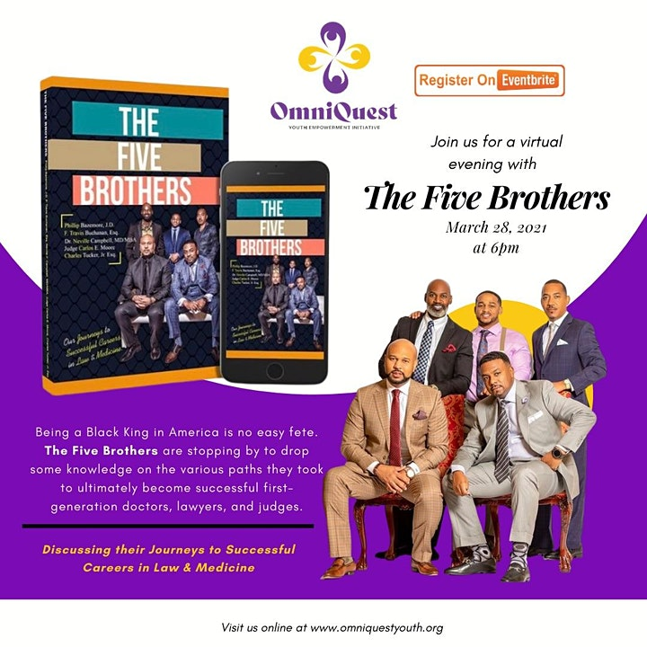"""OmniQuest Youth Black Voices Series  Presents """"The Five Brothers"""" image"""