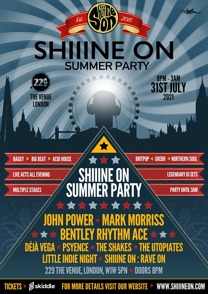 John Power (Cast), Mark Morriss (The Bluetones), Bentley Rhythm Ace & more image