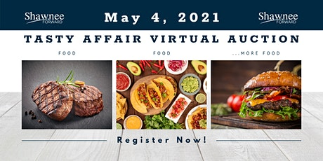 Tasty Affair Virtual Auction tickets