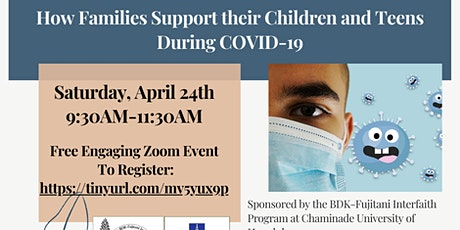 How Families Support Their Children and Teens During Covid19 tickets