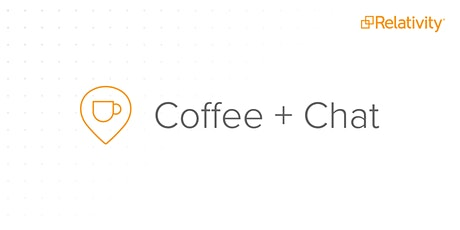 Coffee + Chat: Using Data for Good tickets