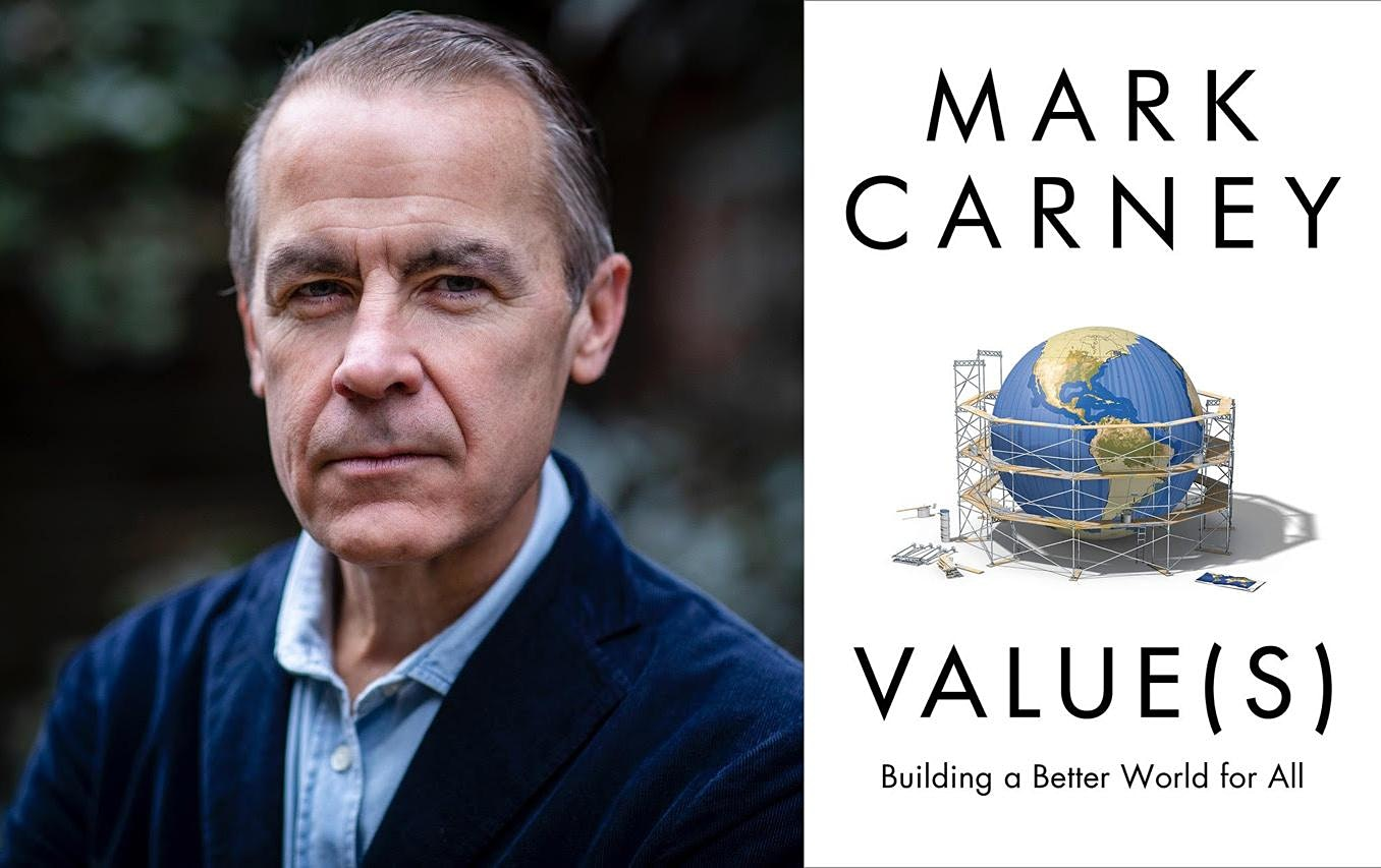 Mark Carney speaks about Value(s) at the April 7 RamsayTalk