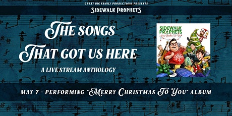 Sidewalk Prophets Anthology Live Stream - Merry Christmas To You tickets