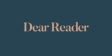 Dear Reader Book Club | March-April tickets
