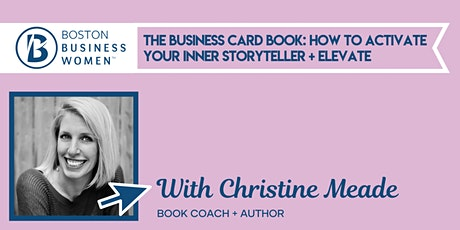 The Business Card Book: How to Activate your Inner Storyteller and Elevate tickets