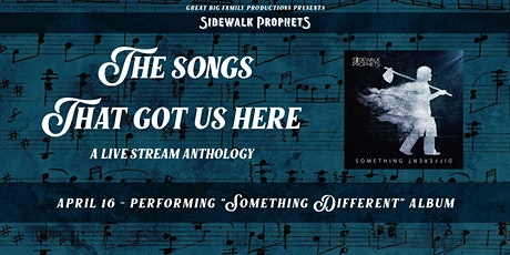 Sidewalk Prophets Anthology Live Stream - Something Different tickets
