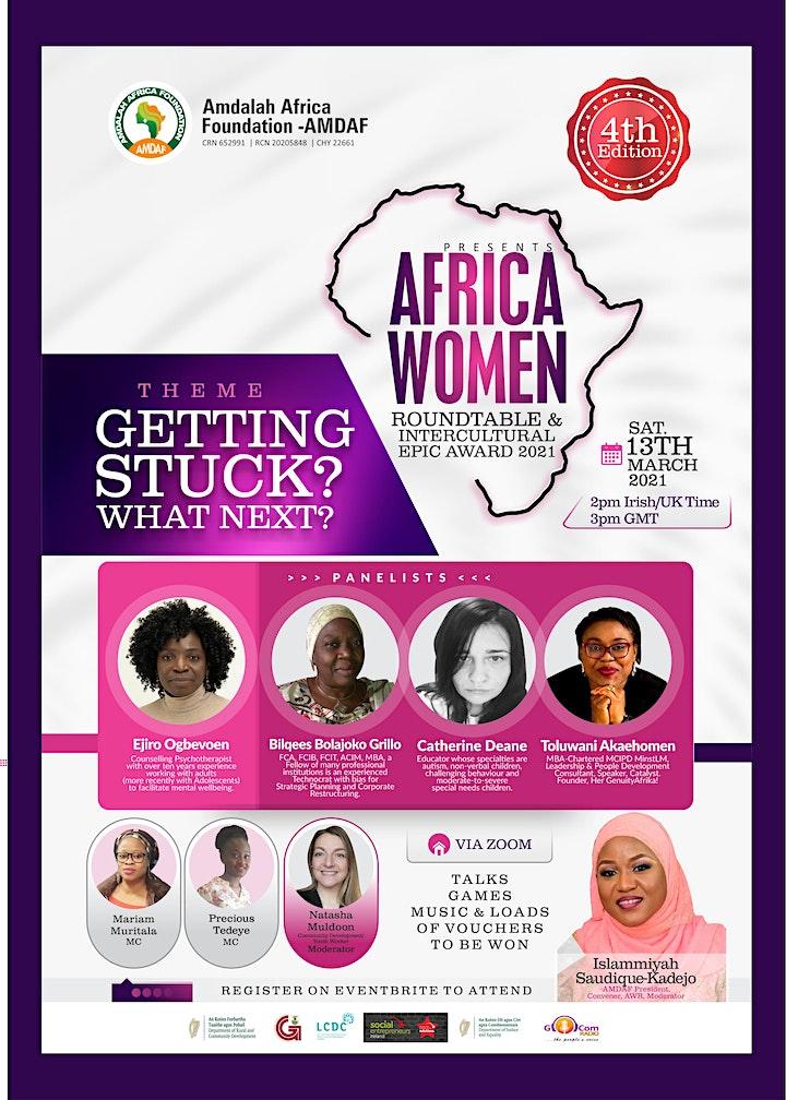 AFRICA WOMEN ROUNDTABLE & INTERCULTURAL EPIC AWARD 2021 image