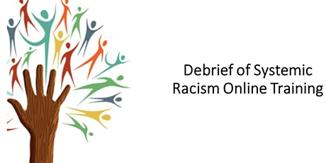 Systemic Racism Online Module Debrief tickets