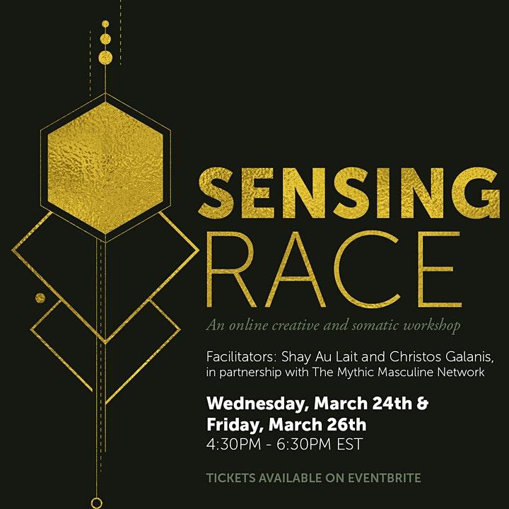 Sensing Race: A 2-Day Experience Making Sense of Race (Mar 24th & 26th) image