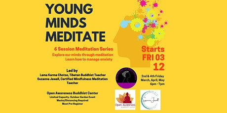 Young Minds Meditate - Young Adult Focused Stress Management Series tickets