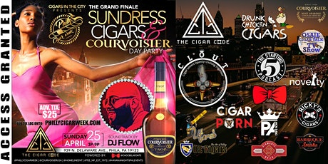 THE GRAND FINALE SUNDRESSES, CIGARS & COURVOISIER DAY PARTY... tickets