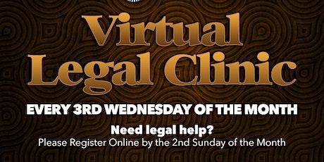 Virtual Legal Clinic tickets