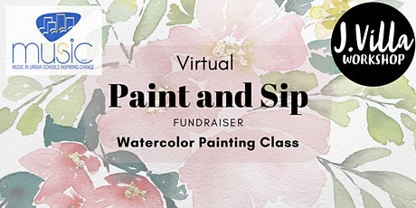 Virtual Paint and Sip Fundraiser tickets