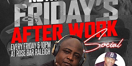 NOTHING NEW AFTER WORK FRIDAYS tickets