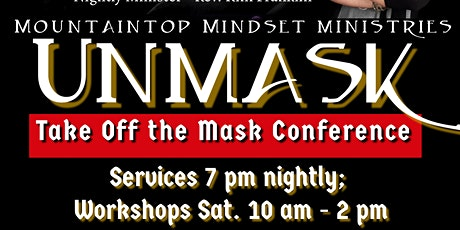 UnMask: Take Off the Mask Conference 2021 tickets
