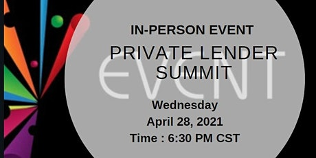 Private Lender Summit (Live Event) tickets