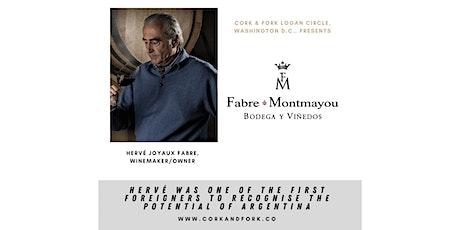 Fabre Montmayou: Hervé Joyaux Fabre, Winemaker/Owner tickets