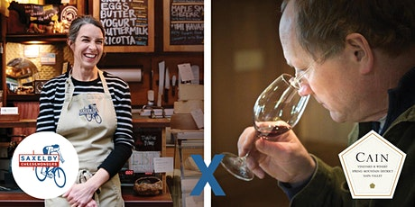 Cain Wine + Saxelby Cheese Virtual Tasting tickets