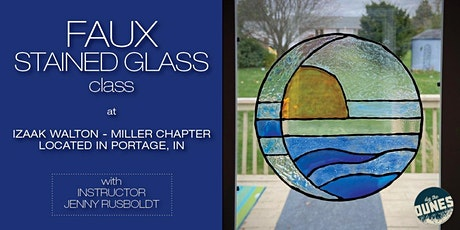 Faux Stained Glass Class tickets
