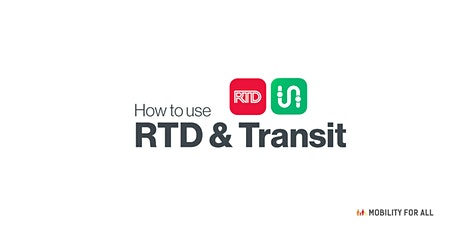 Virtual Mobility for All  - Accessing RTD Using Apps Workshop Tickets
