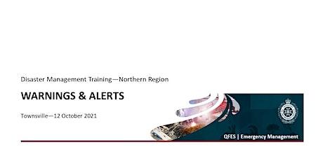 DM Training - Warnings & Alerts tickets