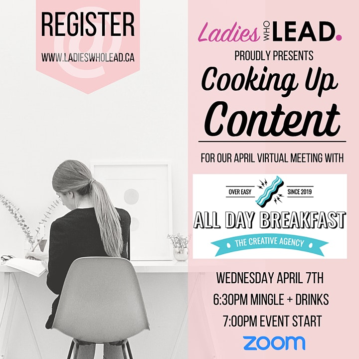 Cooking Up Content with All Day Breakfast + Ladies Who Lead image
