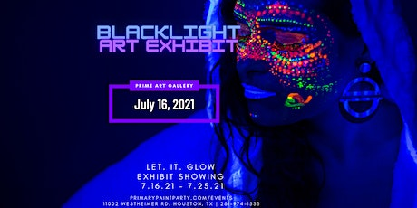 Blacklight Art Exhibit Opening Day tickets