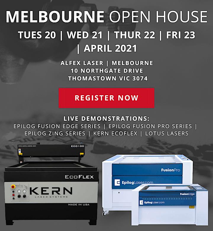 Alfex Laser Open House 2021 - Melbourne image