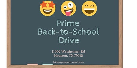 Back To School Drive tickets