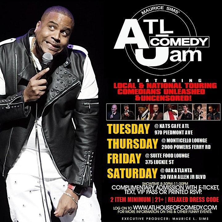 ATL Comedy Jam 2021 image