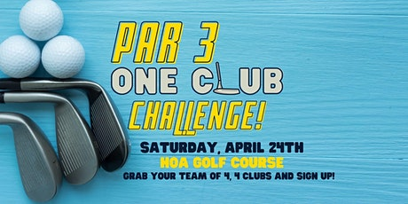 Par 3 One-Club Challenge tickets