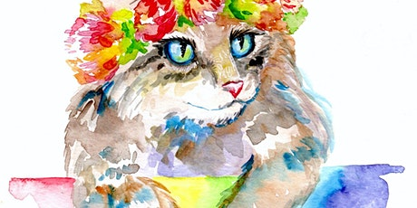 Online Watercolor Painting with Leila tickets