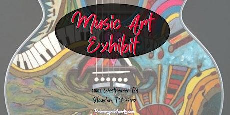 Music Art Exhibit tickets