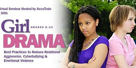 Girl Drama Virtual Seminar - April 30, 2021 tickets