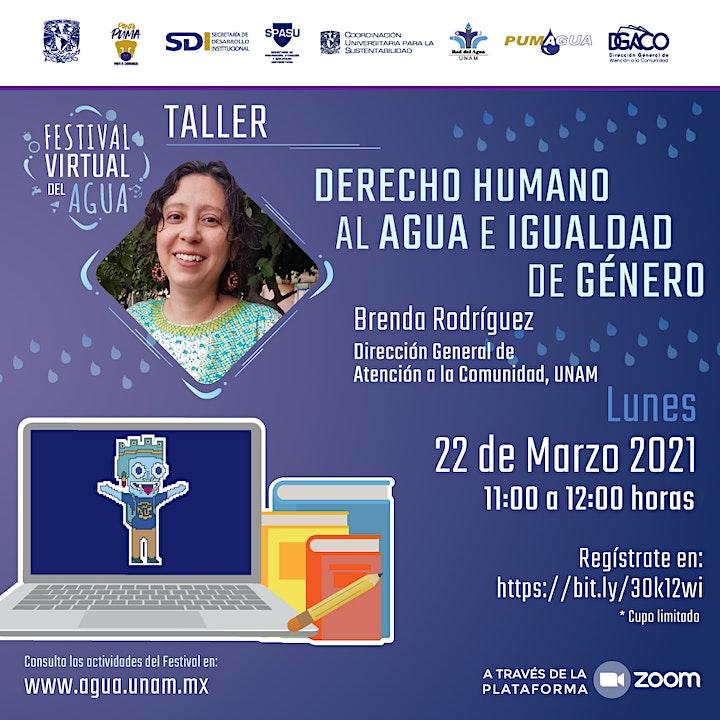 Imagen de Taller - Derecho Humano al  Agua e Igualdad de  Género