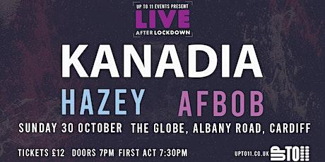 Live after Lockdown - Kanadia tickets