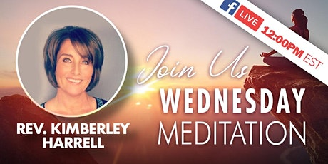 Guided Meditation with Rev. Kimberley via Worldwide Livestream tickets