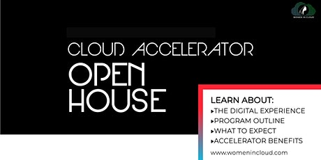 Open House: WiC Microsoft Cloud Accelerator tickets