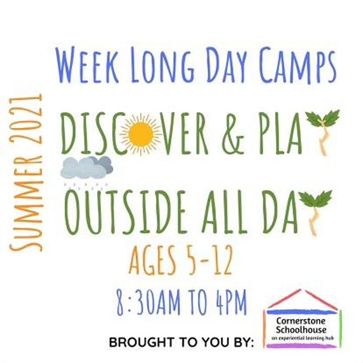 Cornerstone Nature Camp - All About Amphibians - July 19-23, 2021 image