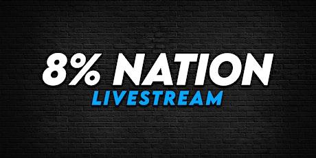 8% Nation 2021 Livestream tickets