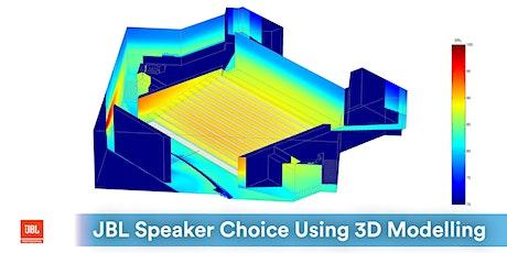 AKL | JBL Refining Loudspeaker Choice using 3D Modelling & Predictions tickets