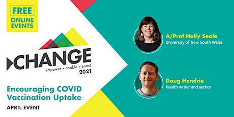 Online Change Event: Encouraging COVID Vaccination Uptake tickets